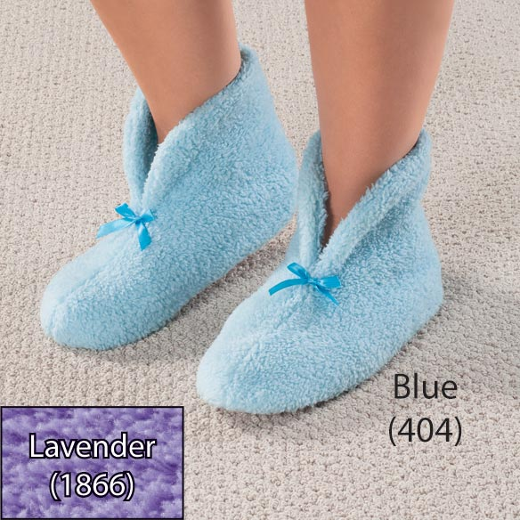 Chenille Slippers - View 2