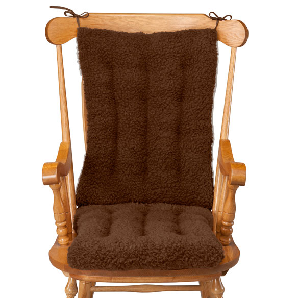 Sherpa Rocking Chair Cushion Set by OakRidge Comforts™ - View 5