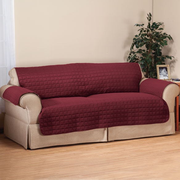 Microfiber Loveseat Protector by OakRidge Comforts™ - View 5