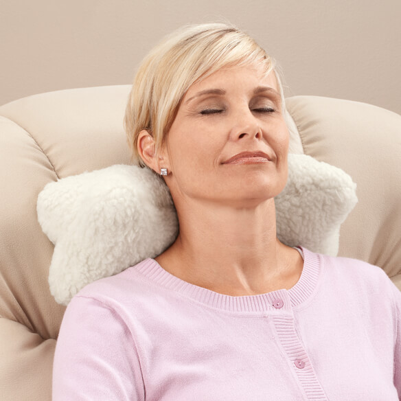 Sherpa Neck Cradle Pillow by OakRidge Comforts™ - View 4